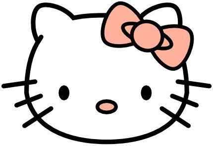 Hello Kitty. Как нарисовать
